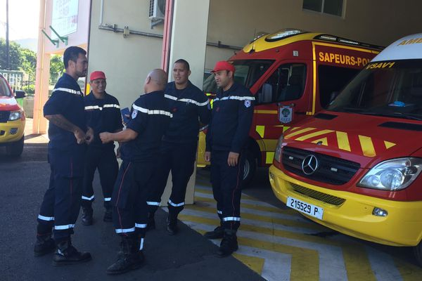 Les pompiers étaient les premiers arrivés