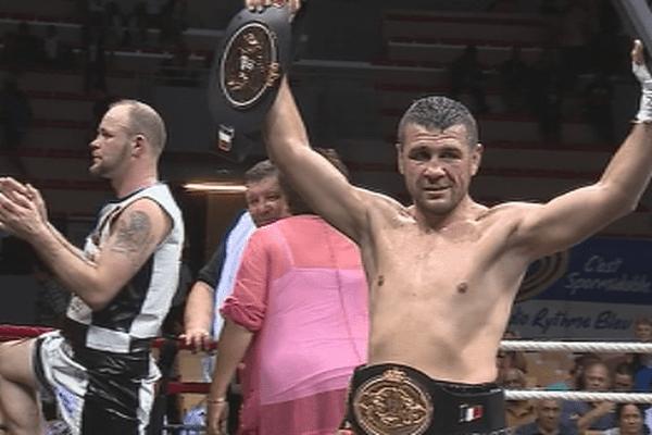 Nicolas Dion, champion de France des poids super-moyens