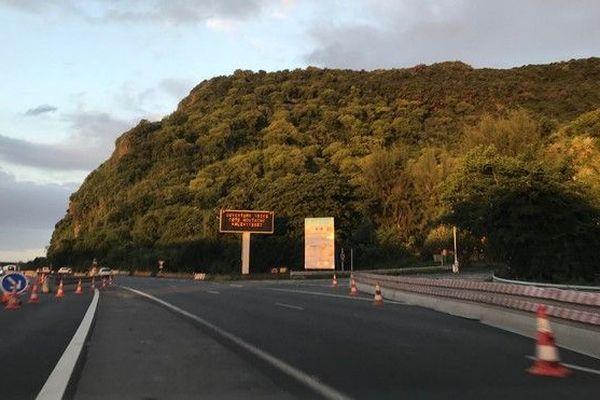 Route du littoral basculement la possession 1 voie cote mer 300319