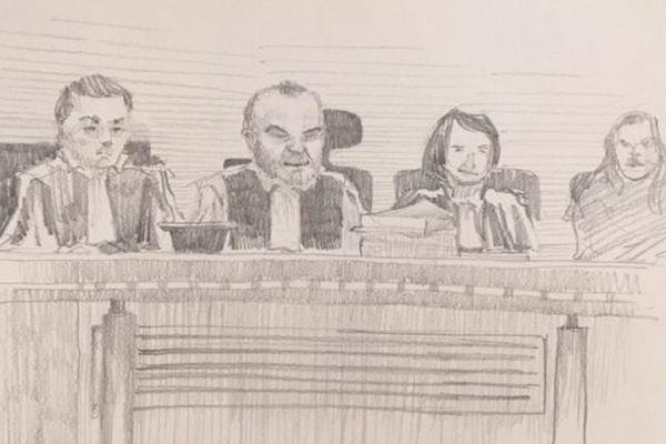 Première journée du procès de la « maison de l'horreur » aux Assises de Saint-Denis, le 17 septembre.