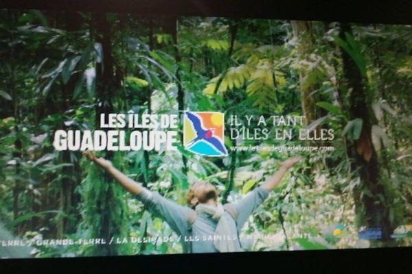 La Guadeloupe sur les chaines nationales