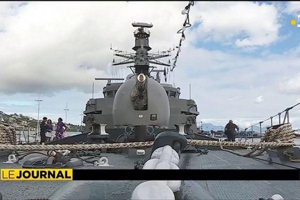 Visite guidée de la frégate « Almirante Lynch »