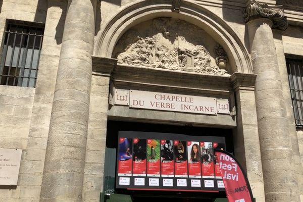 La Chapelle du verbe incarné abrite le TOMA à Avignon