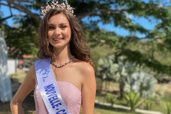 Louisa Salvan, miss Nouvelle-Calédonie 2020