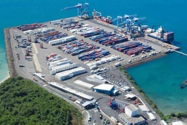 Le port de Fort de France