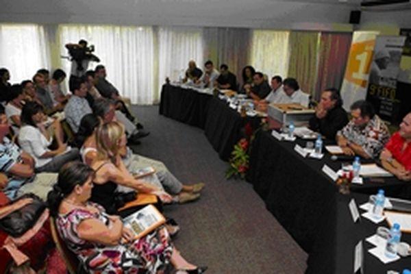 Conférence de presse du 9e FIFO, mercredi 18 janvier à Papeete
