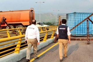 Vénézuéla: pont de tiendista