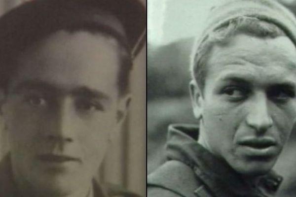 René Autin et Georges Messanot, deux saint-pierrais qui ont participé au D-Day