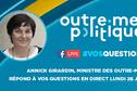 """Annick Girardin : """"Le gouvernement apportera de vraies réponses aux Outre-mer"""""""