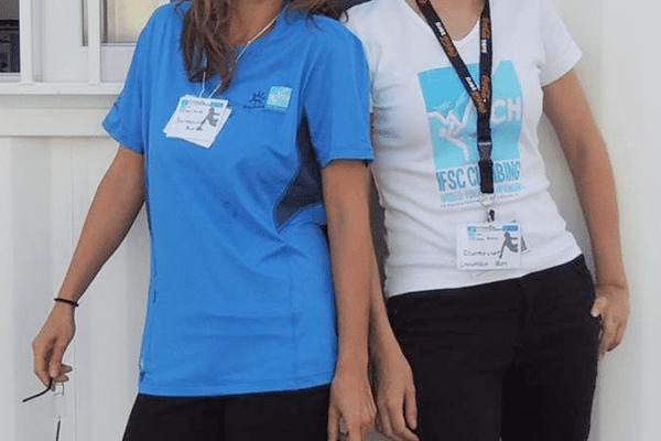 WYCH. Deux bénévoles