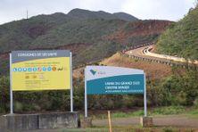 Accès à la mine de l'usine du Sud en janvier 2020, image d'illustration.