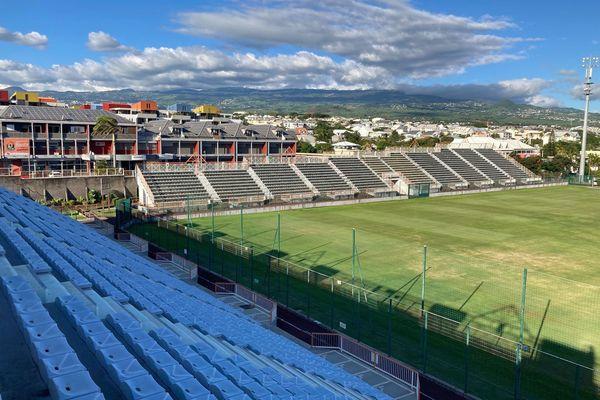 Tribunes stade Michel Volnay
