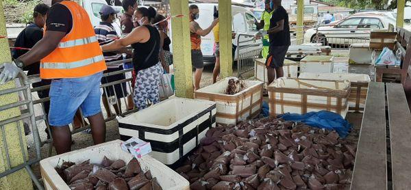 Distribution de wassaï saisie par la PAF