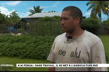 Sans emploi, il se lance dans l'agriculture bio