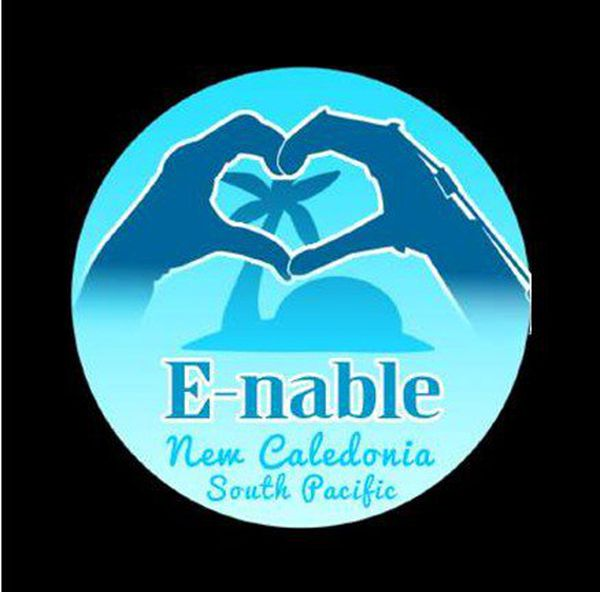 Logo E-nable calédonie