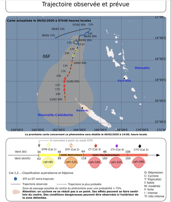 Cyclone 9 février 1