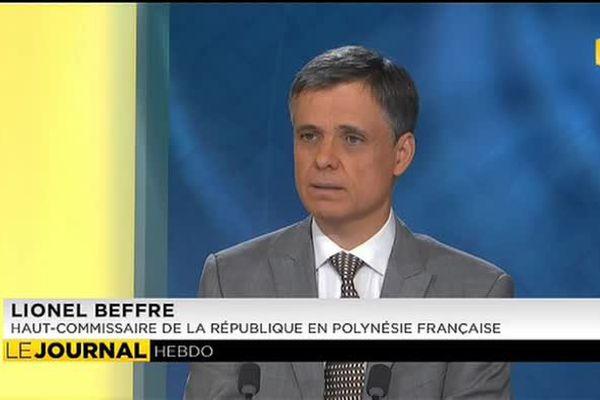 L'invité du journal: Lionel BEFFRE, Haut-Commissaire de la République en Polynésie française.
