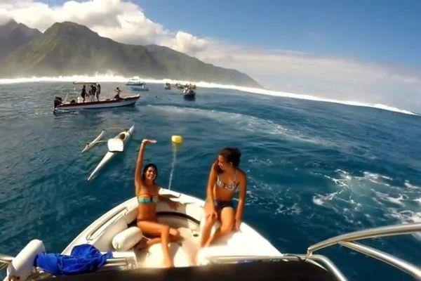Une journée avec Vaimiti Teiefitu, Miss Tahiti à Teahupoo #MTadventures