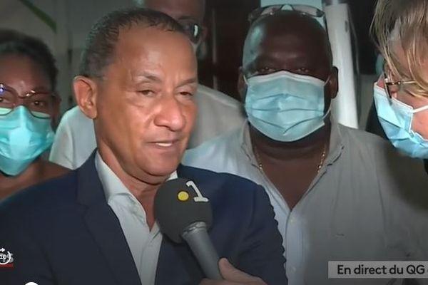 Elections territoriales 2021 : la déception de Rodolphe Alexandre, le président sortant