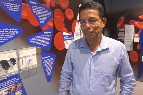 Eric Magamootoo, vice-président de l'association CODALIS diabète 090419