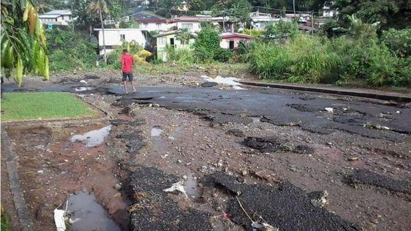 dégâts Fiji
