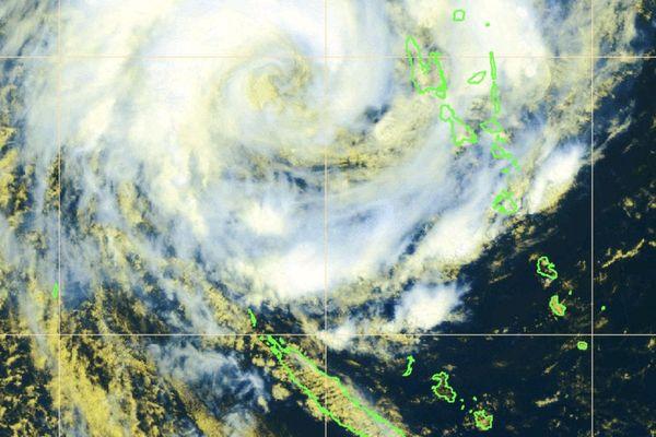 Carte satellite Oma, 17 février à 11 heures