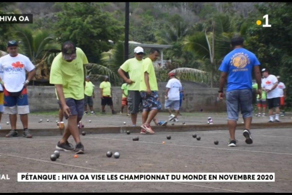 Pétanque : ça tire ou ça pointe au championnat des Marquises - Polynésie la 1ère