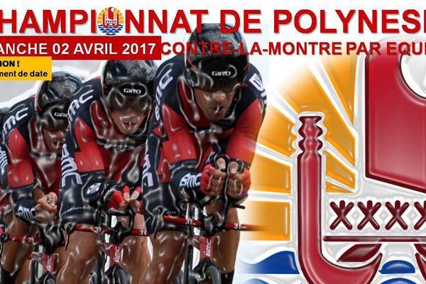 Cyclisme : le championnat de Polynésie reporté au 23 avril
