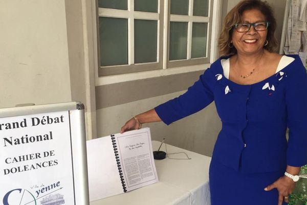 Ouverture du cahier de Doléances à la mairie de Cayenne
