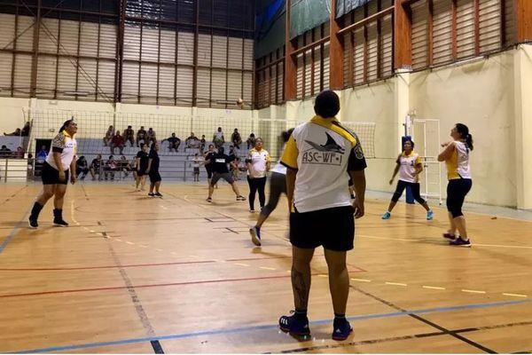 Tournoi inter-services de volley ball