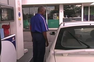Hausse carburants : station service