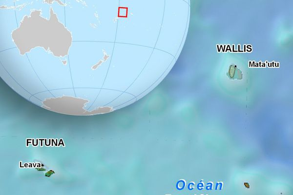 Le drapeau de Wallis et Futuna