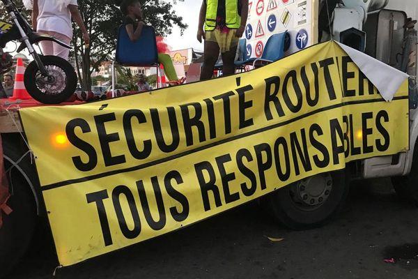 Sécurité routière carnaval