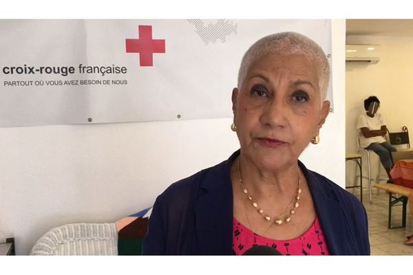 Croix Rouge à Saint-Martin