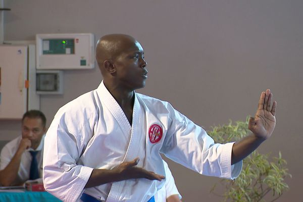 Reprise de la compétition de karaté après le coronavirus, kata, 29 août 2020