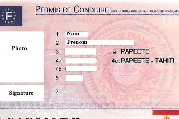Nouveau format de permis de conduire