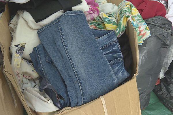 Vêtements pour migrants