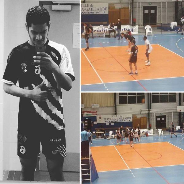 Au CABCL Volley de Brive-la-Gaillarde, Metty mène un début de carrière prometteur