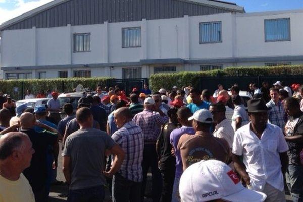 Grève à la GTOI