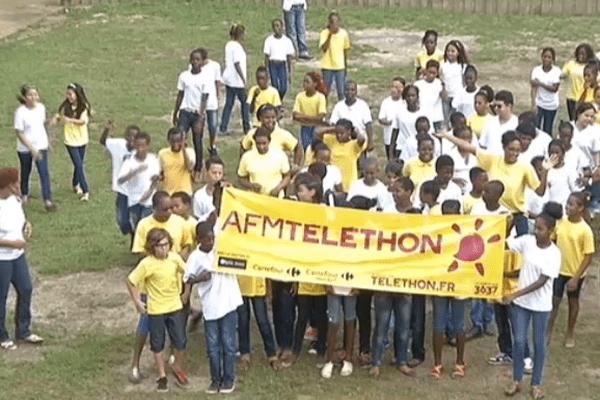 Le collège de « La Canopée » mobilisé pour le Téléthon 2014