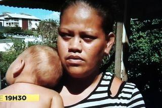 lusia expulsée wallisienne d'un squat à dumbéa