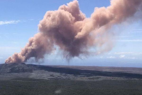 L'éruption a débuté jeudi 3 mai