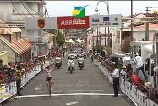 Victoire Guichard 1er tronçon Etape 2