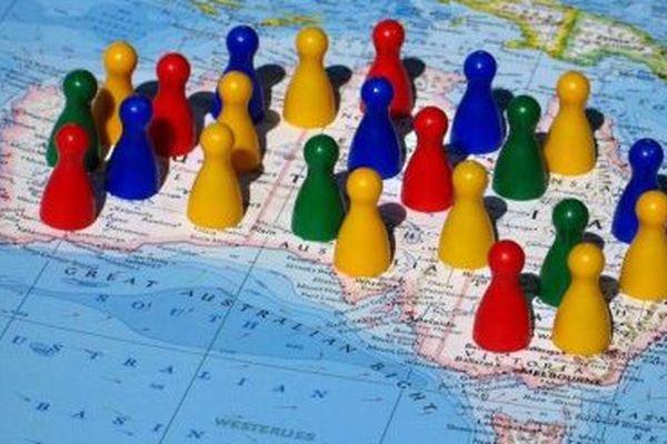 La croissance démographique est retombée à 1.4% par an en Australie.