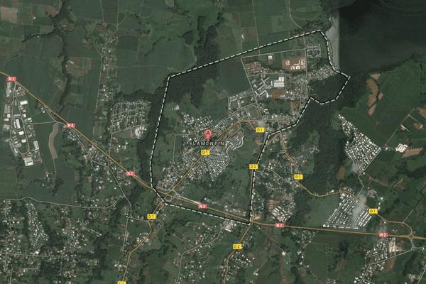 Le Lamentin maps