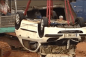 [Vidéo] Affaire Fowel: La voiture est hors d'eau