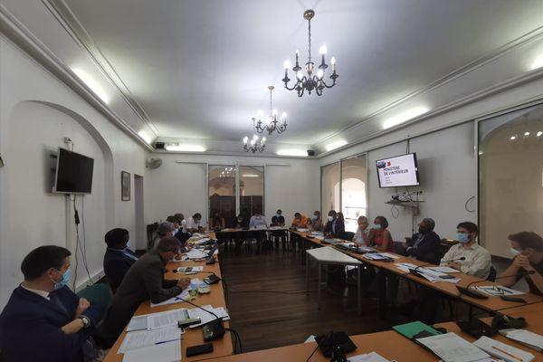 Réunion de la cellule interministérielle de crise le 16 septembre