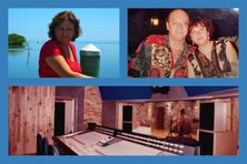 Marilène Mauriello, ancienne co-gérante d'hibiscus Records avec feu son mari Jean-Michel.
