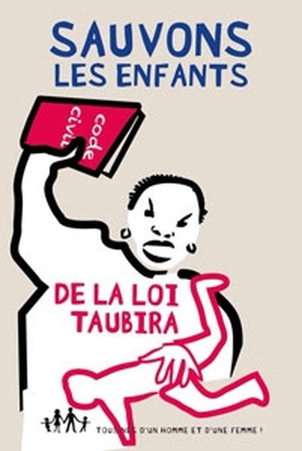 Affiche Taubira manif pour tous