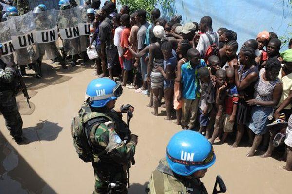 Haiti casques bleus ONU